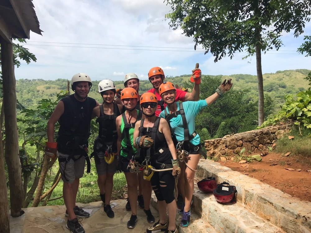 Monkey Jungle and Zip Lining