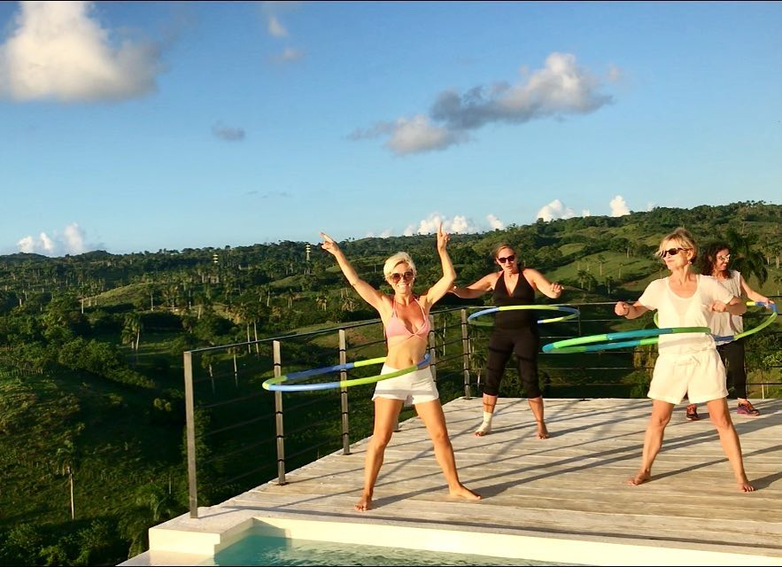 Hula Hooping with the View