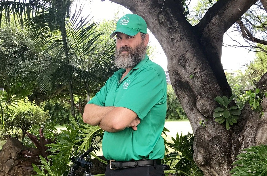 "Anthony O'Neal – Veteran - ""I enjoy my job as a bicycle delivery courier in the same way I enjoyed the military because it gets me out exploring and seeing new things, enjoying the fresh air and meeting new people."""