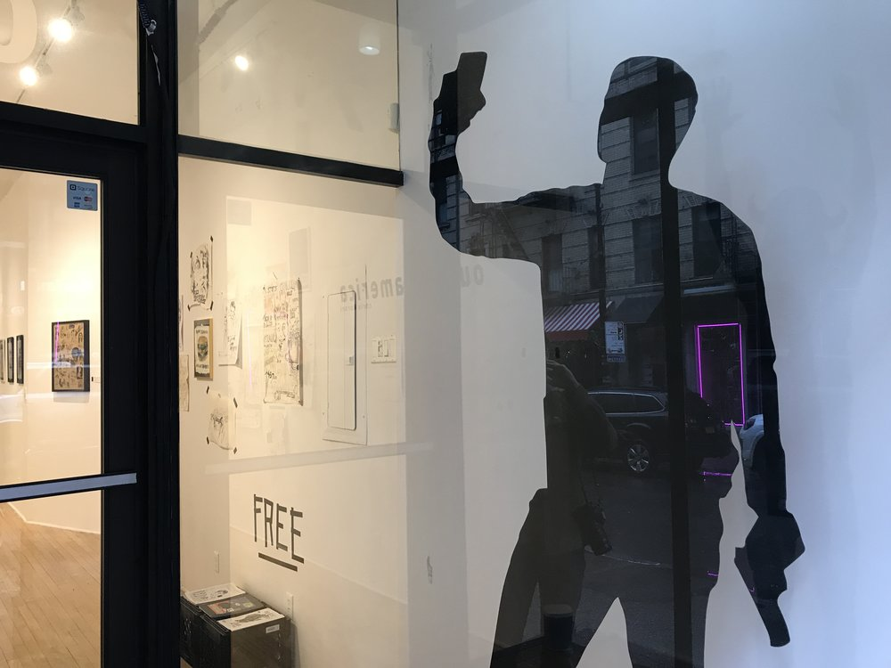 Outside america - solo show: the storefront project, new york