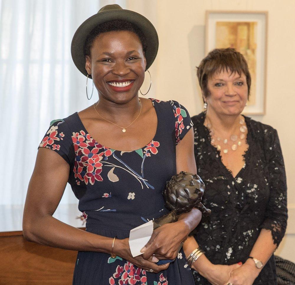 Adura Onashile, winner 2016