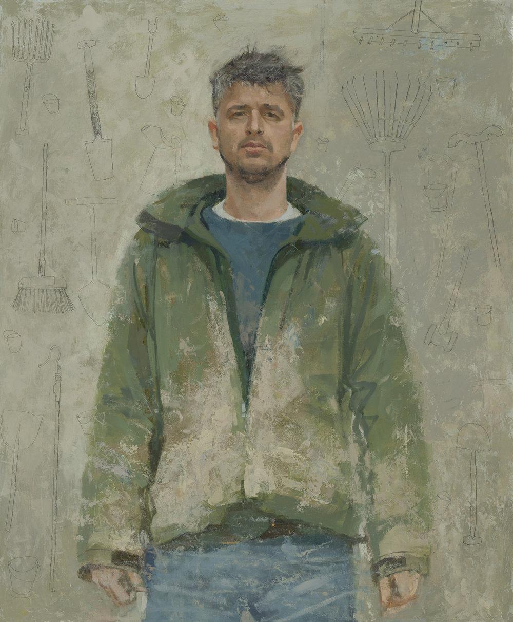 spa winner - helen Wilson's portrait of jonah from kittyfield farm