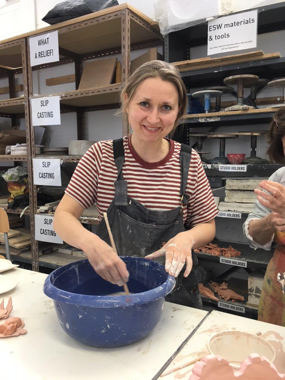 Kjersti Sletteland - Kjersti Sletteland is an artist based in Edinburgh.She works in a range of mediums, including porcelain.She exhibited works from her series BIOSENARIO at the Scottish Arts Club in September.www.biosenario.comwww.kjerstisletteland.com