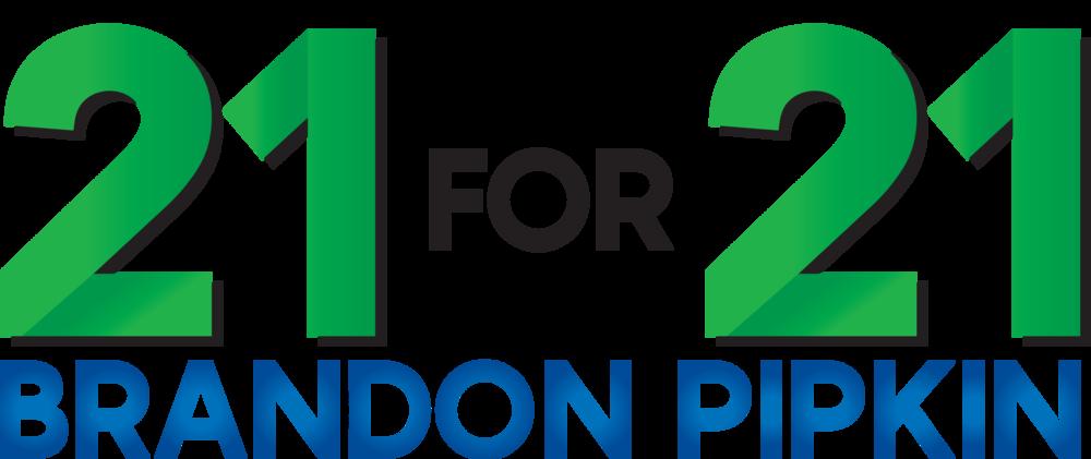 21 for 21 logo