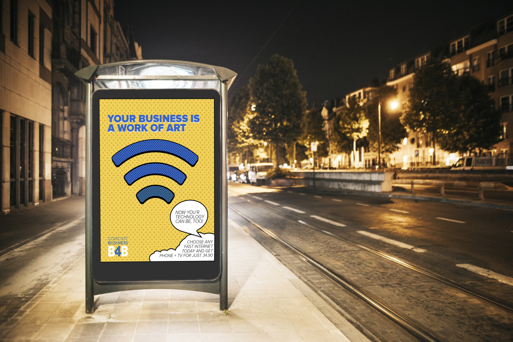 OOH-Bus Stop Ad