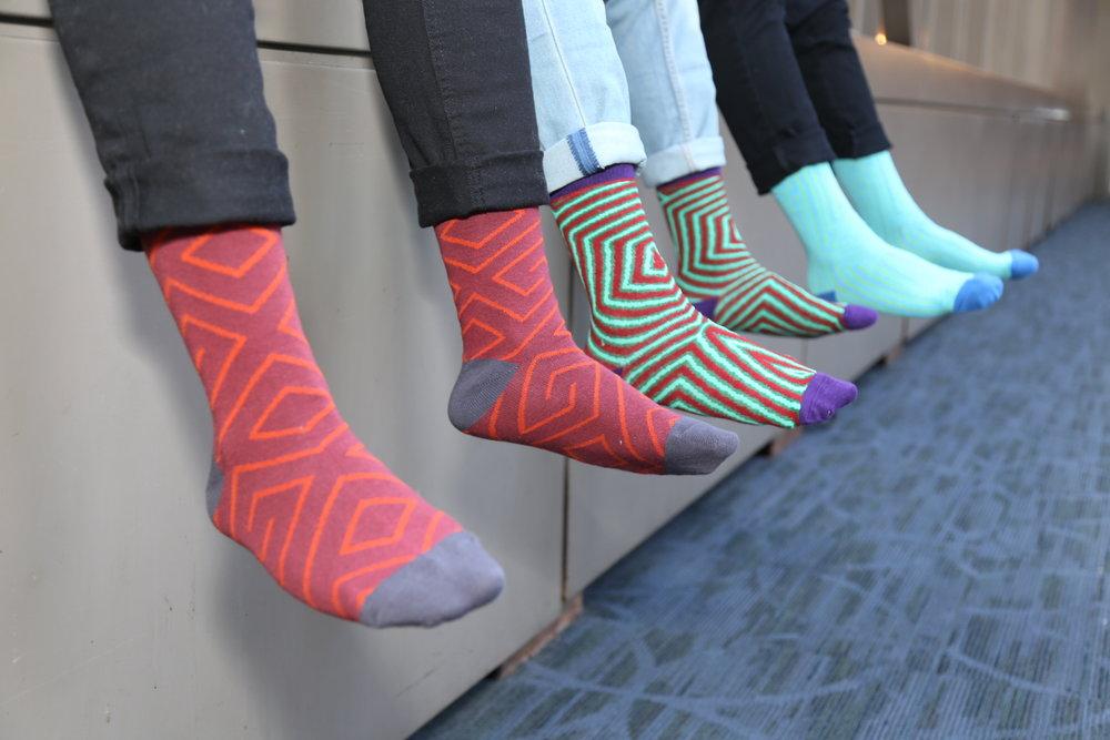 Upscale Socks