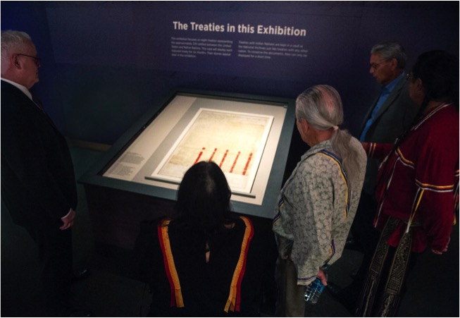 Overall Excellence Award Nation to Nation: Treaties Between the United States and American Indian Nations National Museum of the American Indian