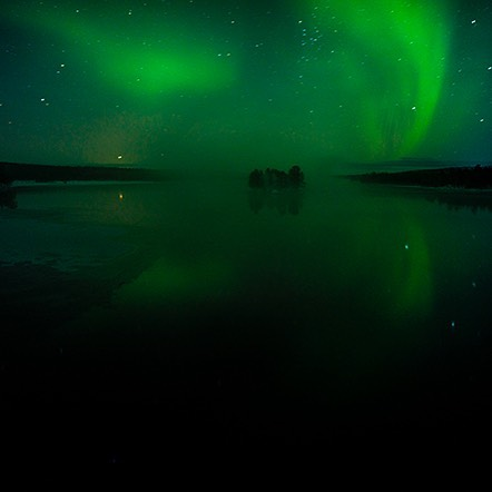 As above, so below. And perhaps also within... #magic #auroraborealis #northernlights