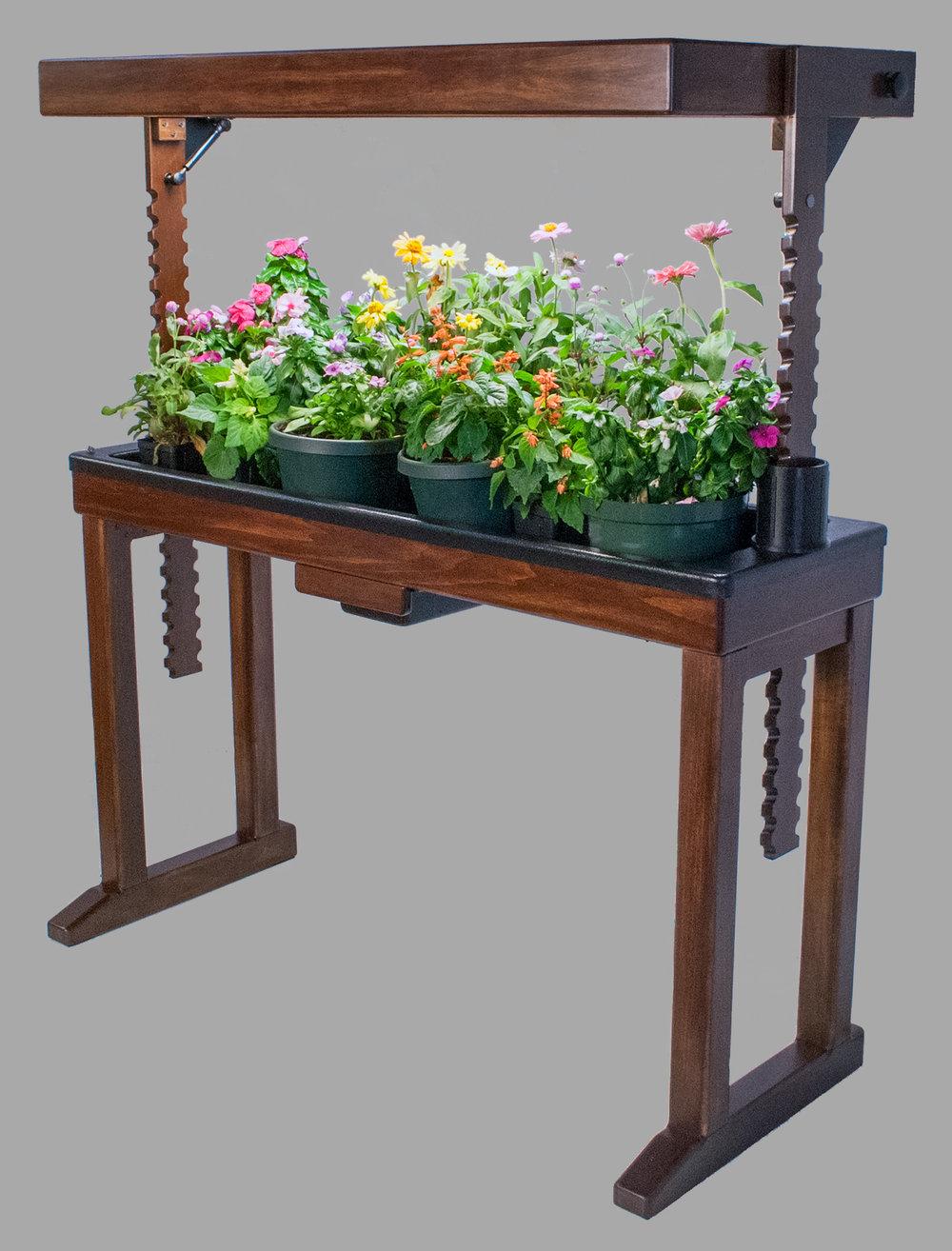 BloomInLight Indoor Gardening System With Built-In Grow Lights