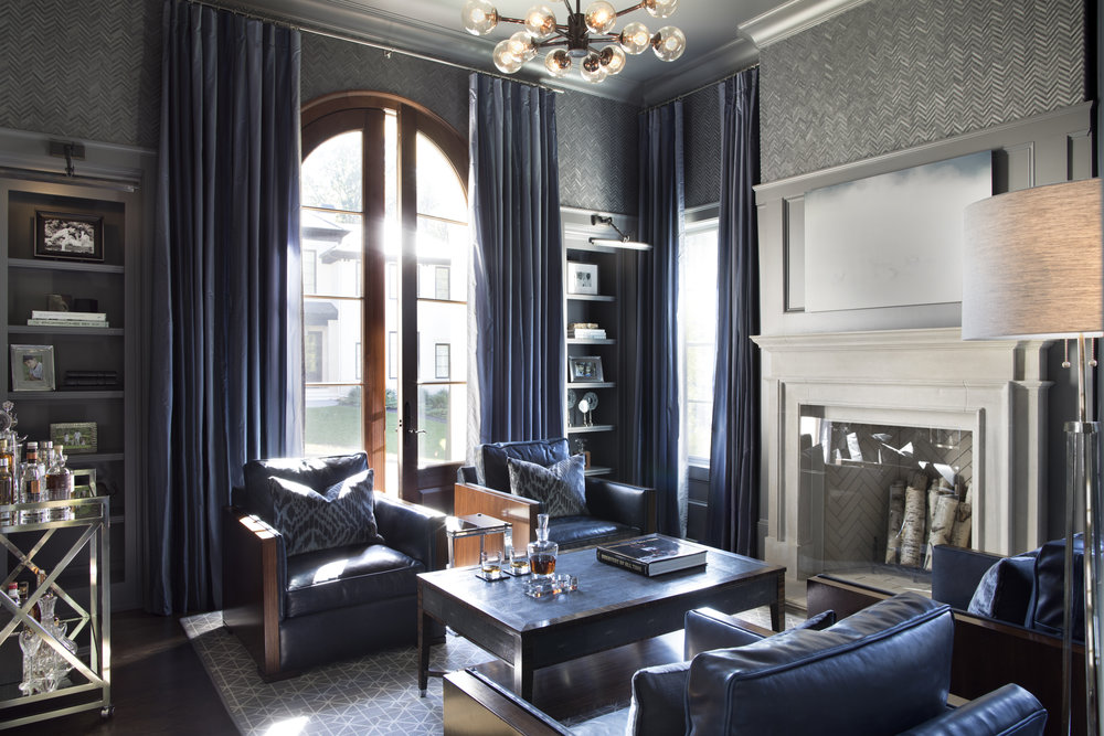 Sophisticated Bachelor, Traci Rhoads Interior Design, Private Residences  And Country Clubs, Atlanta