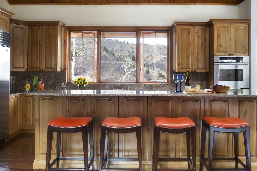 © Traci Rhoads Interior Design, Private Residences and Country Clubs, Aspen, CO