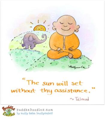 We love  Buddha Doodles !