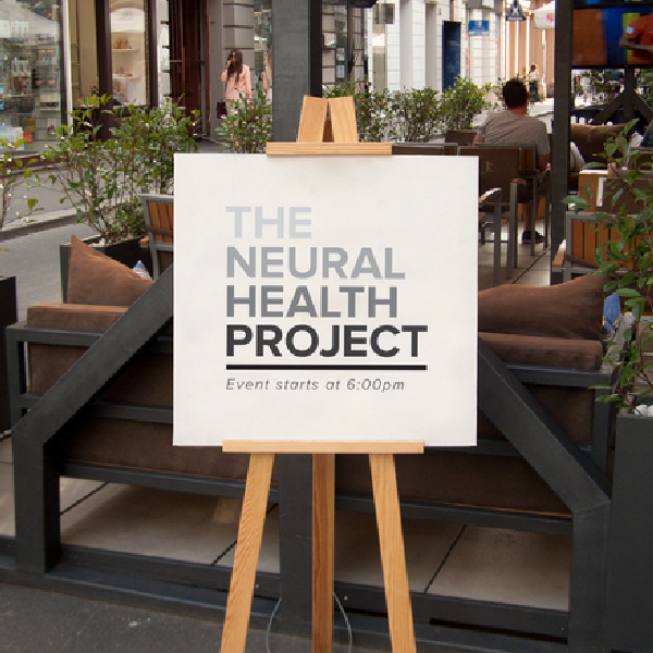 Client: The Neural Health Project Project: Branding, Website, Events, Marketing