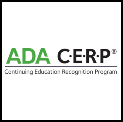 MicroDental Laboratories is an ADA CERP Recognized Provider.  ADA CERP is a service of the American Dental Association to assist dental professionals in identifying quality providers of continuing dental education. ADA CERP does not approve or endorse individual courses or instructors, nor does it imply acceptance of credit hours by boards of dentistry. Concerns or complaints about a CE provider may be directed to the provider or to ADA CERP at www.ada.org/cerp.  CE program is intended for continuing education activities for participants only and is separate from MicroDental's company interest to promote products and services.