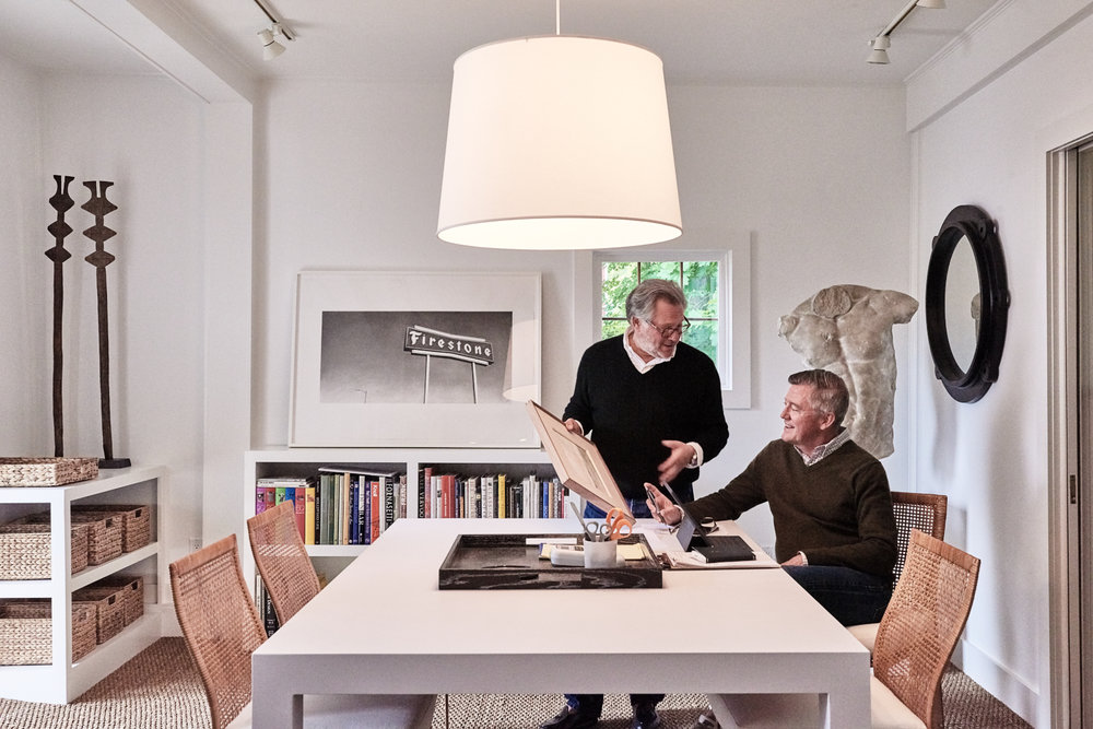 George Home's Bruce Glickman & Wilson Henleyat The Design Studio at George.