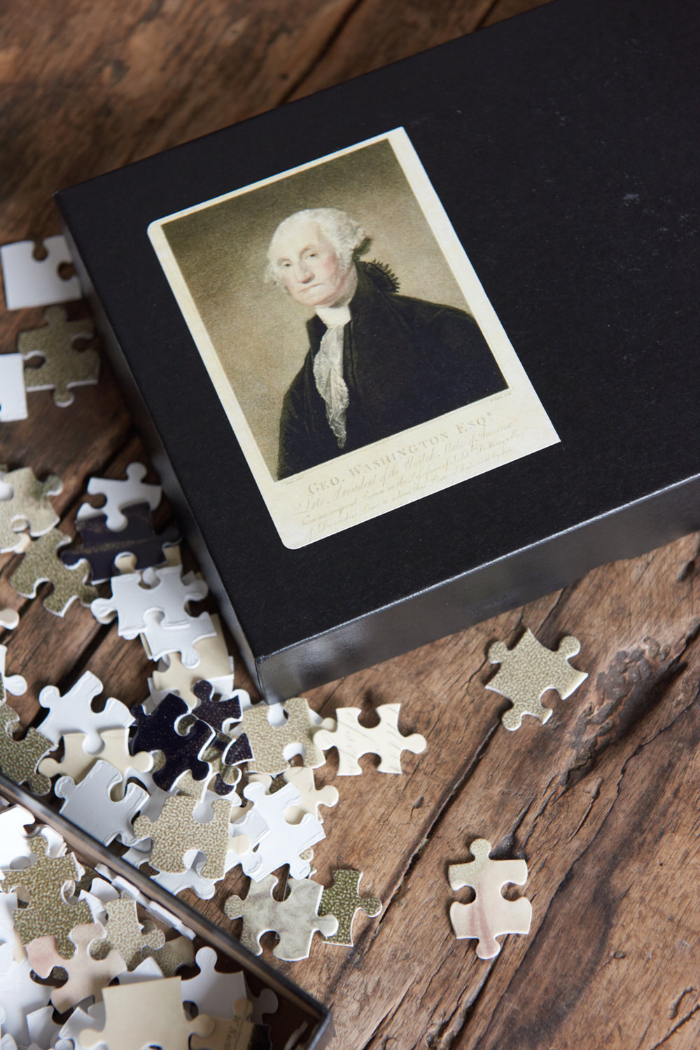 "George Washington jigsaw, 11""x 14"", $34"