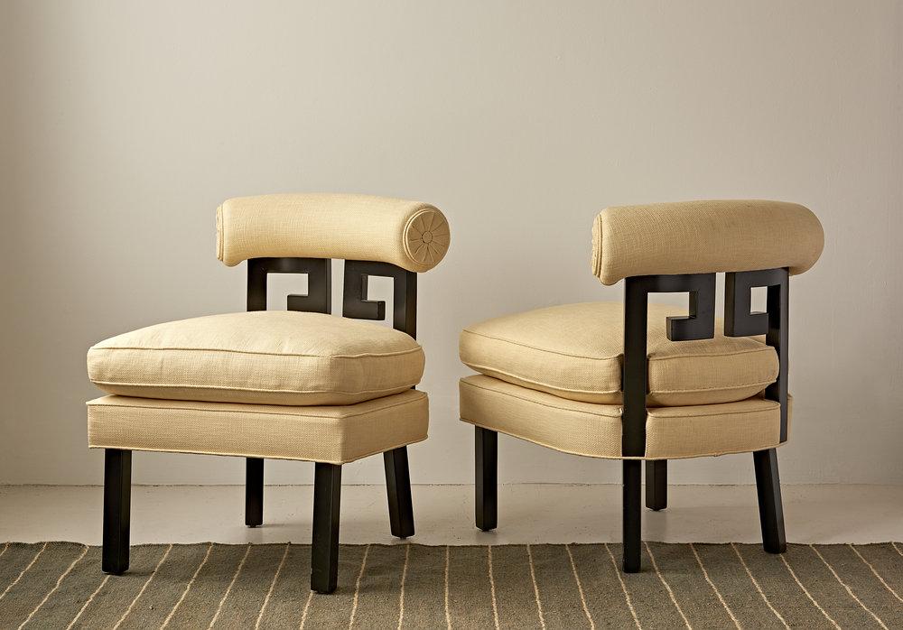 Walker slipper chair by Duane Modern  $3800