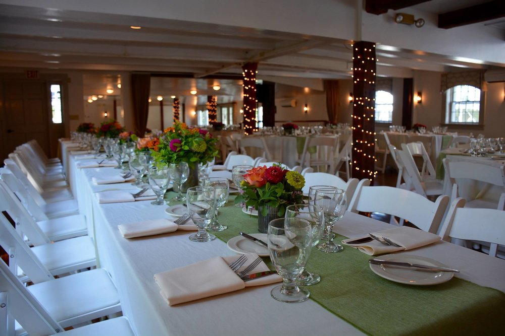 Banquet Room at the Dowds' Country Inn - Weddings & Special Events - Lyme, NH