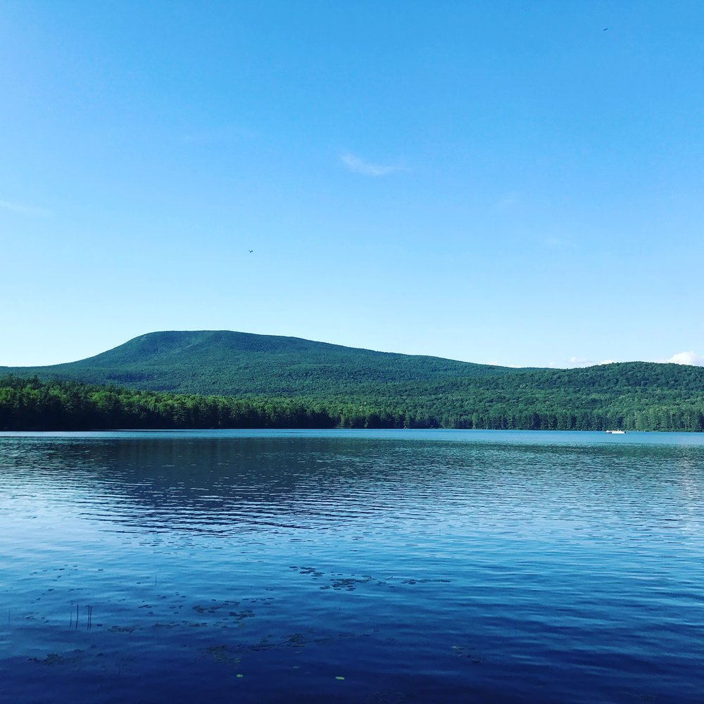 Smarts Mountain from Reservoir Pond