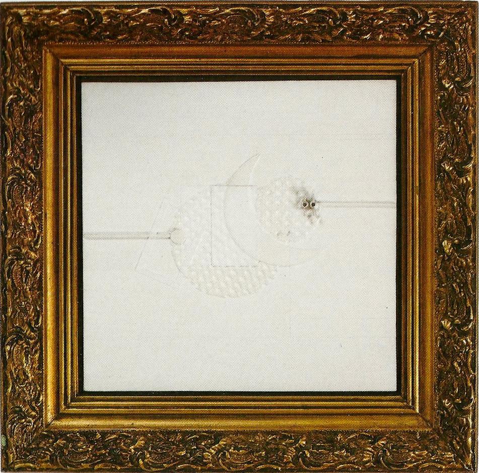 Rafael Echeverri Sin Titulo de la serie Eclipse. ca. 1994. Mixta sobre tela 40 x 40.jpg