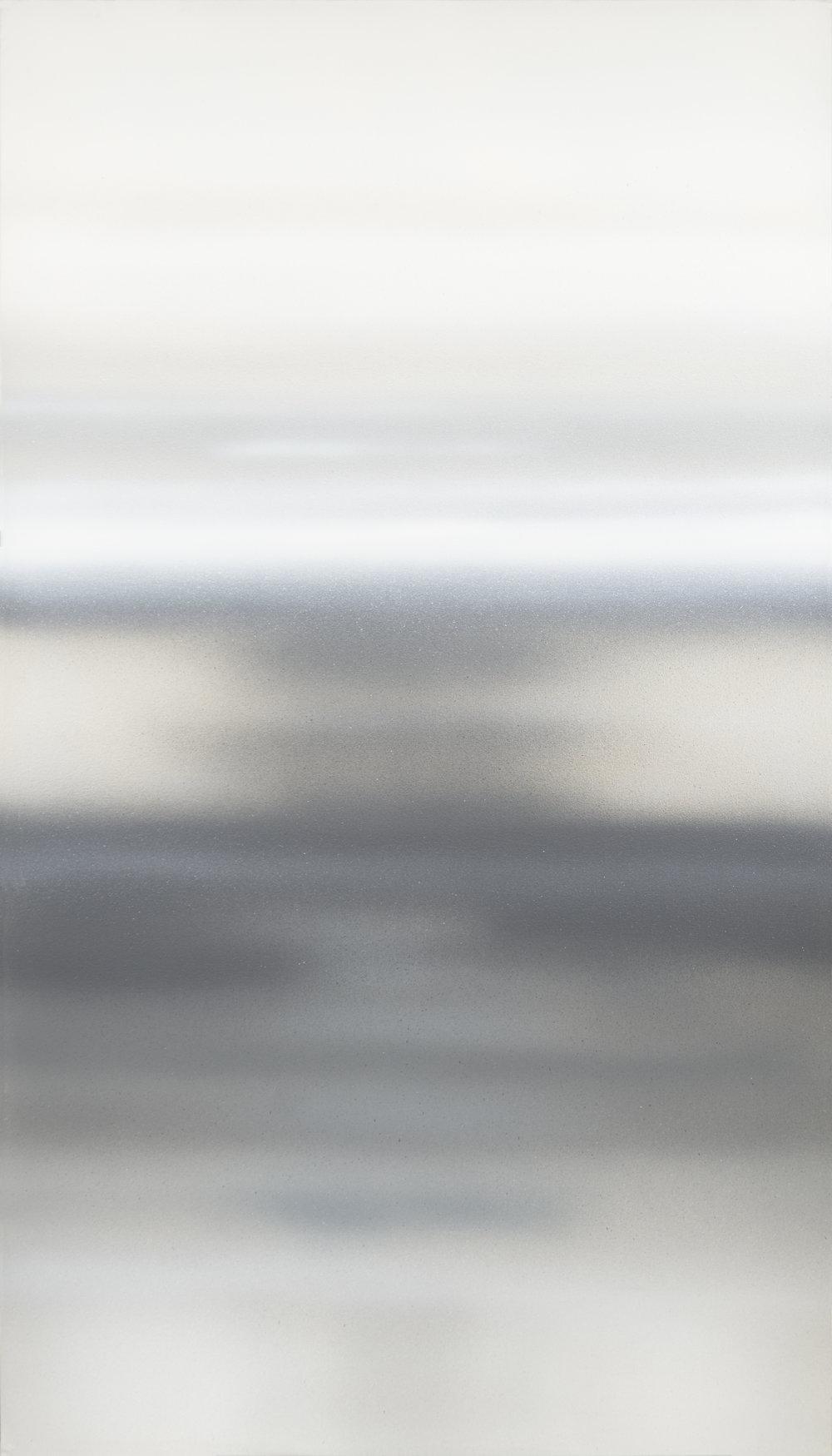 S.T (2018) - 210 x 120 cm - Acrílico sobre lienzo / Acrylic on canvas