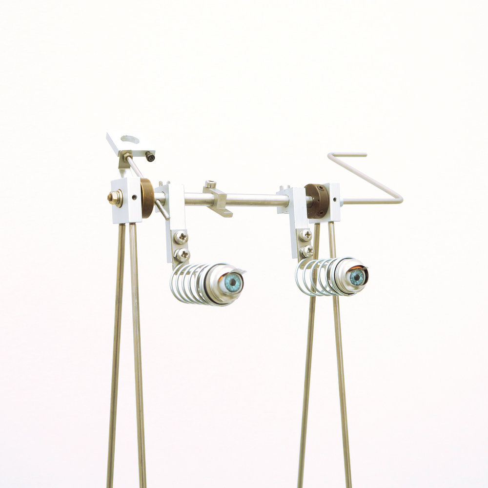 Artificial Contact (2016) -  75 x 30 cm - Objeto y dispositivo electromecánico /  Object and electromechanical device