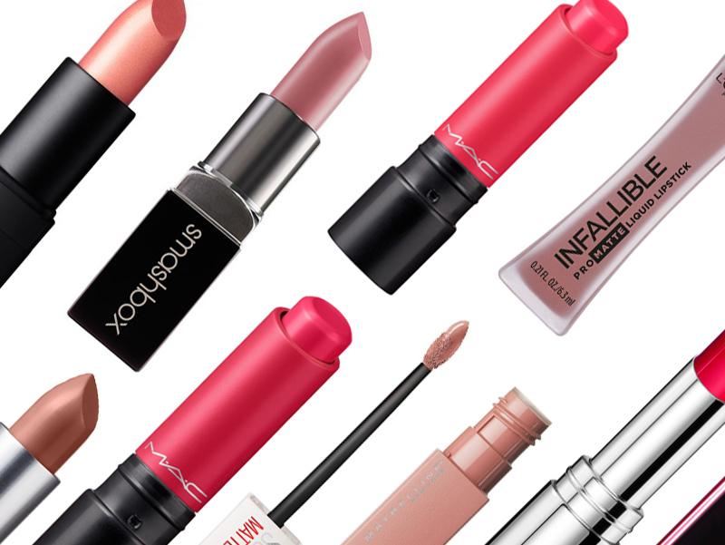 lipsticks mac maybelline loreal nars mac cosmetics smashbox