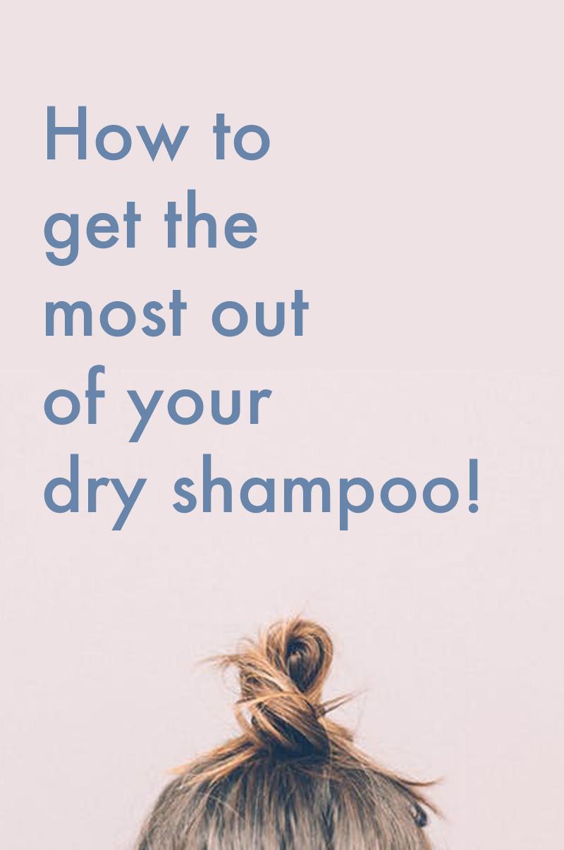 dry shampoo tips tricks