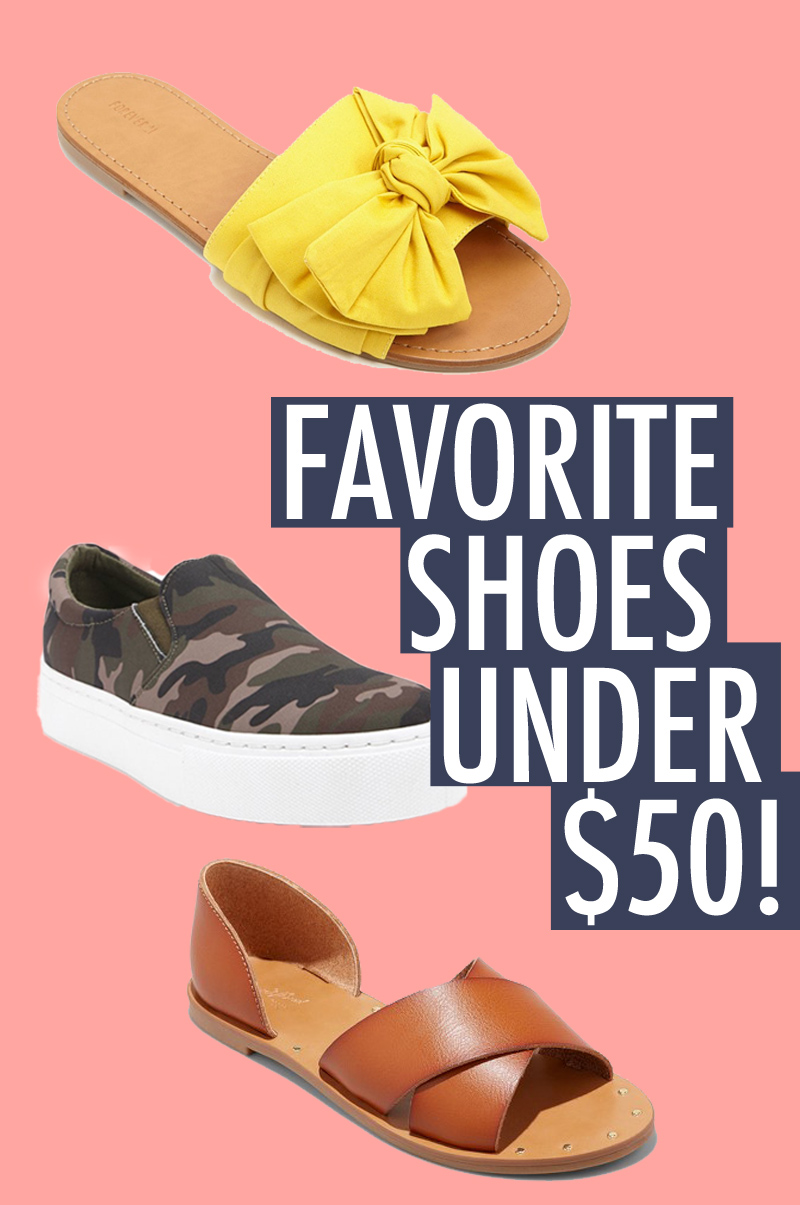 Favorite Shoes For Spring Under $50! — Denim & Roses