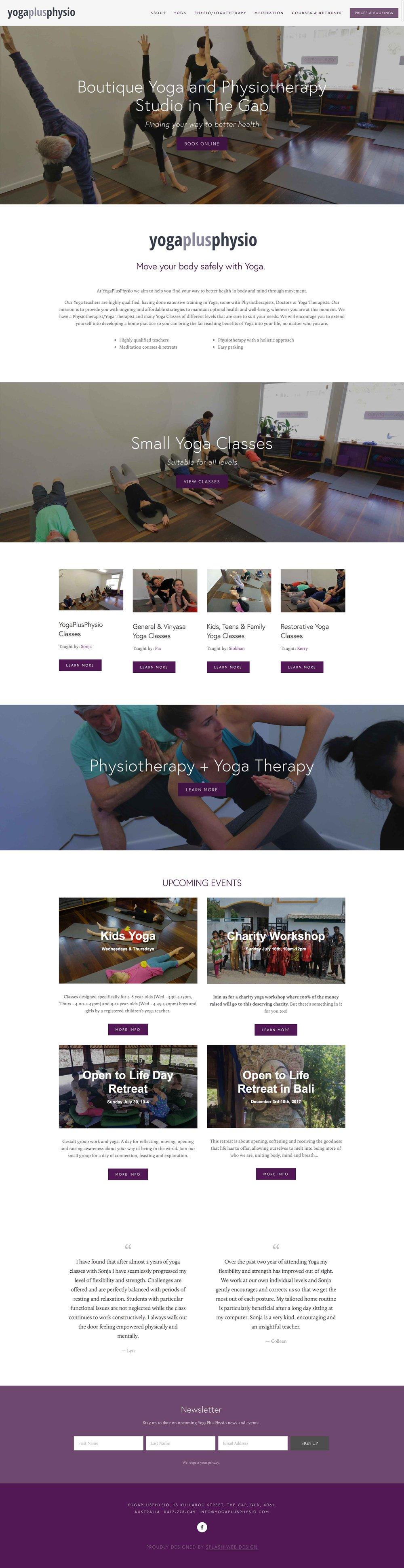 YogaPlusPhysio Preview
