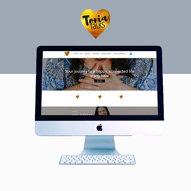 One of our favourite projects was working with the amazing @toniaivanni from @tonia.talks on the launch of her website.⠀ ⠀ Tonia created @tonia.talks to work with people in helping them achieve a happy and fulfilling life. When designing her website our goal was to portray these feelings of happiness, peace and inspiration. To achieve this, we integrated a mixture of soft colours with a cheerful bright yellowy/gold and used images and fonts that conveyed a positive vibe. ⠀ ⠀ Click the link in bio to read more about her website (https://www.splashwebdesign.com.au/portfolio/toniatalks)