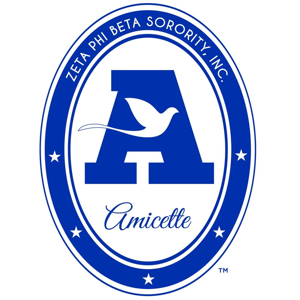 Amicettes  - Amicettes are girls 9 to 13 years of age who are willing to strive toward the high ideals of Zeta Phi Beta Sorority and who demonstrate potential for leadership in service to the community. Amicettes are affiliated through local chapters.