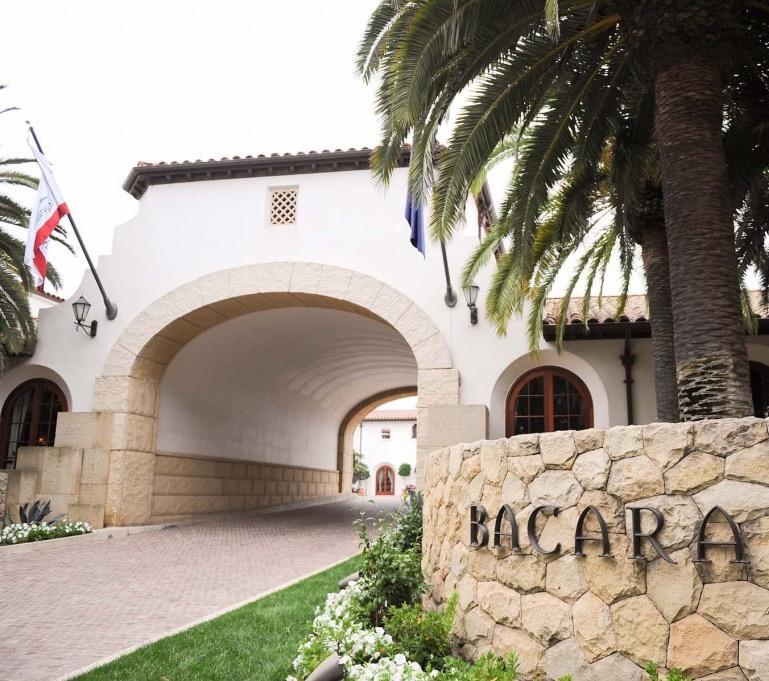 Bacara makes an impressive entrance!