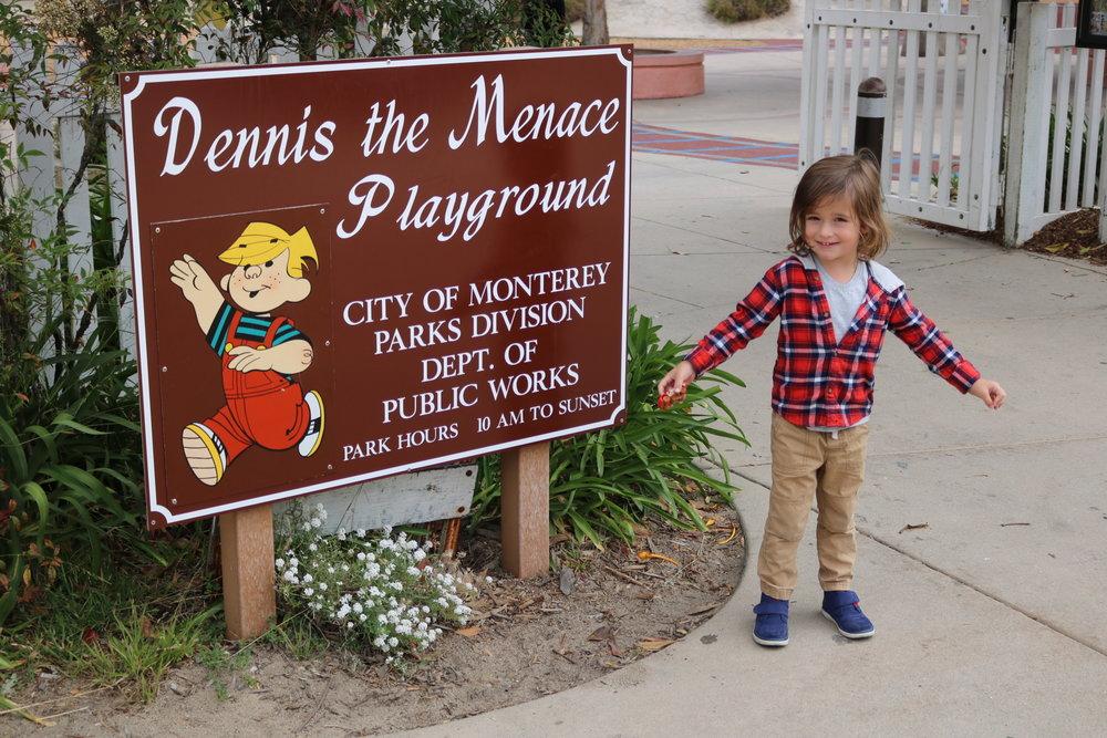 Dennis The Menace Playground in Monterey