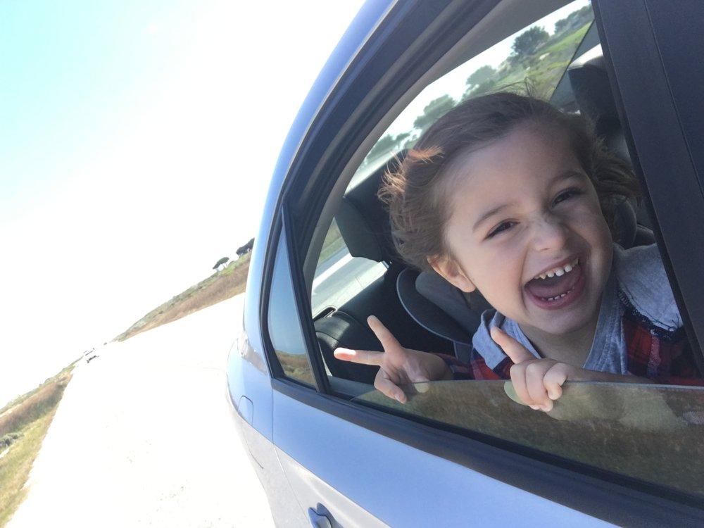 Cruising on 17 mile drive