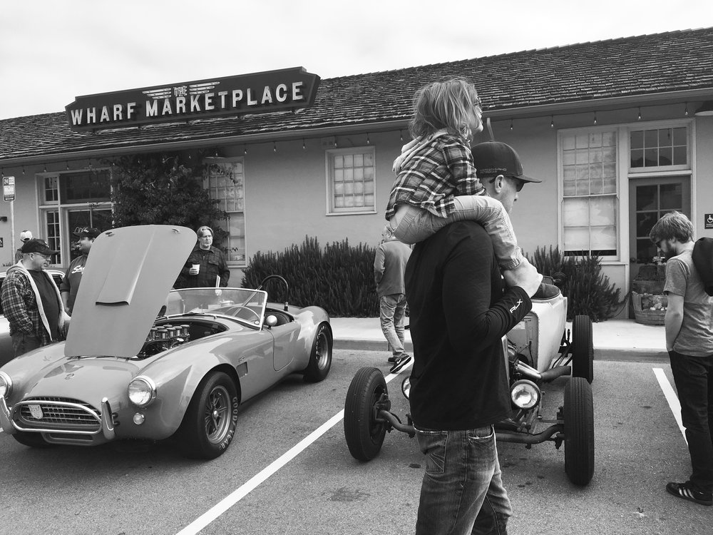 Car Show at The Wharf in Monterey