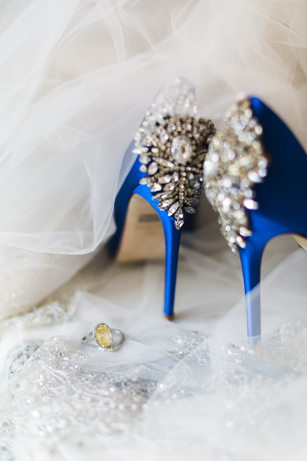 Badgley Mischka Heels- Something Blue