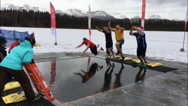 """Freezin for a Reason"" Alaska Special Olympics Polar Plunge"