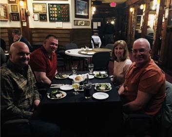 Corey Rowley, Andrew Merrill, Shirley Coté, John McKinnon