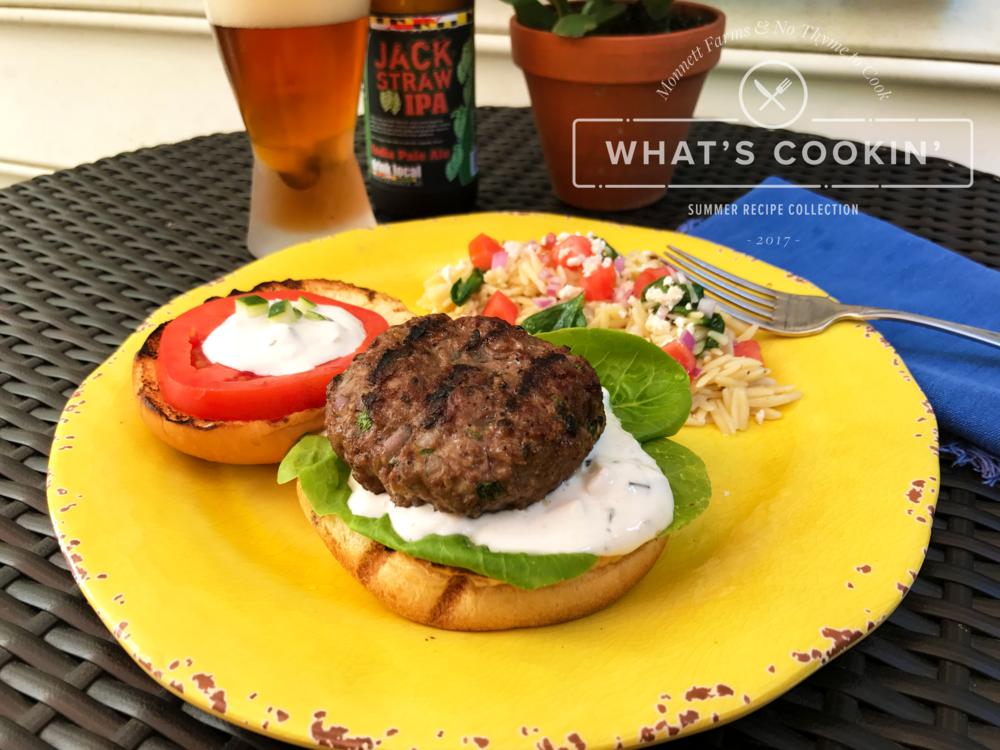 lamb-burger-with-tzatziki-sauce