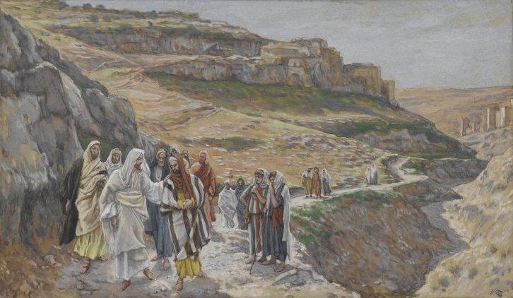 James Tissot: «Jésus s'entretient avec ses disciples» (ad 1886-1894)Brooklyn Museum (Wikimedia)