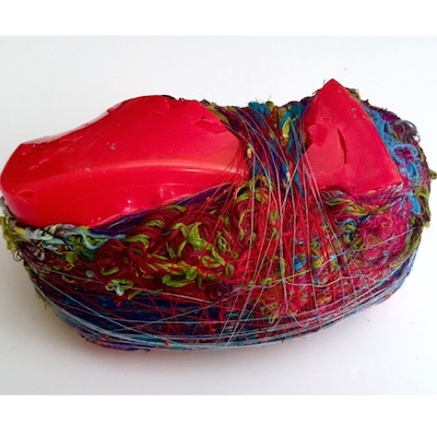 Red Boat. Paint Skins & Recycled Threads - 2014