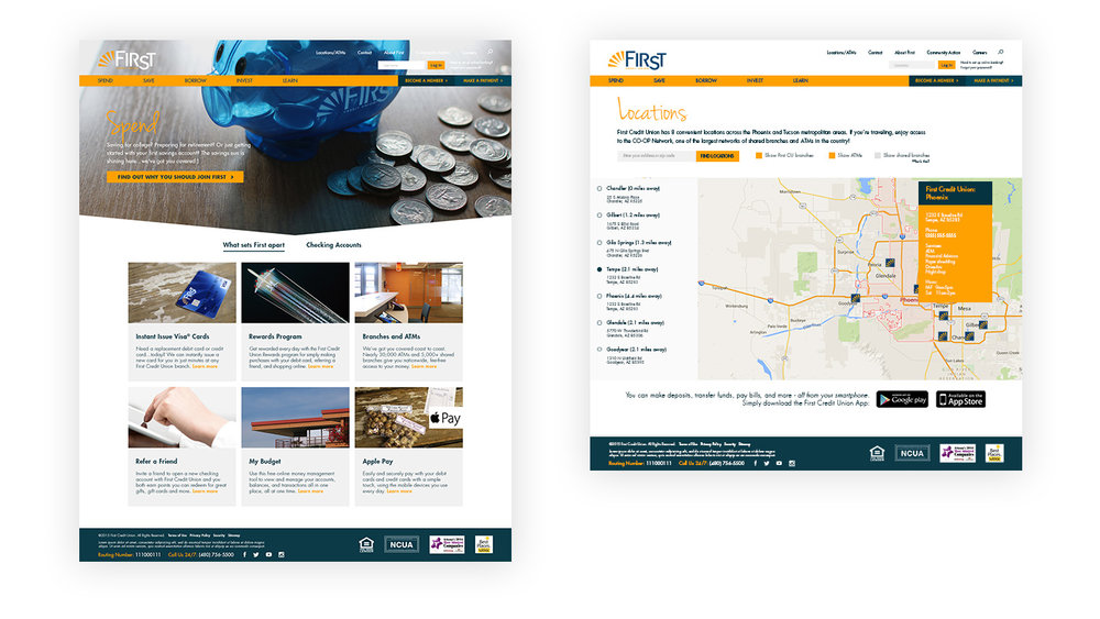 Improving usability on a credit union website | Dialogue