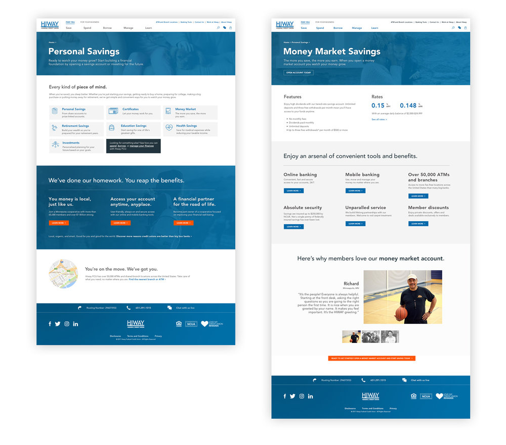 credit-union-web-design-examples