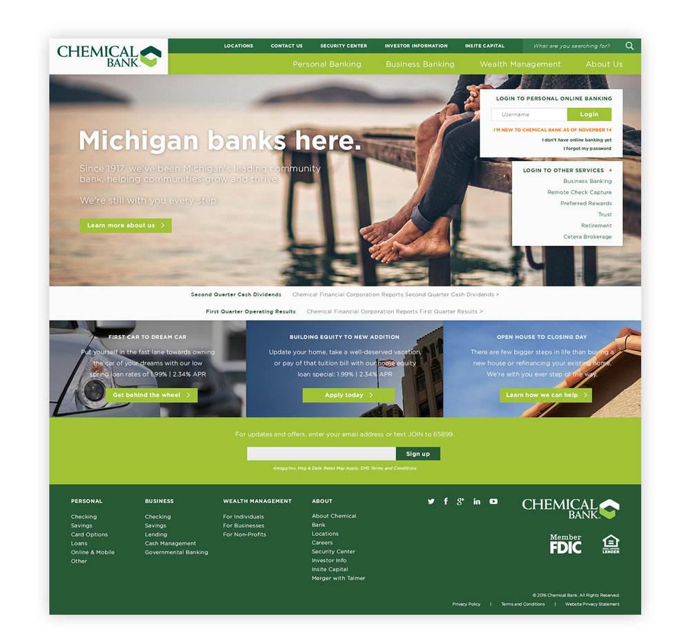 Chemical-Bank-homepage-design