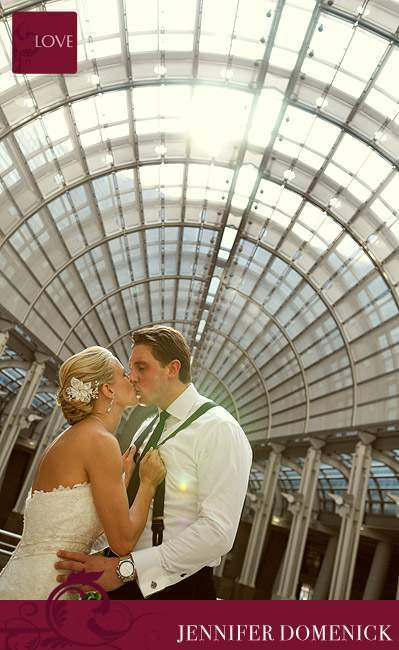 Ronald Reagan Building wedding