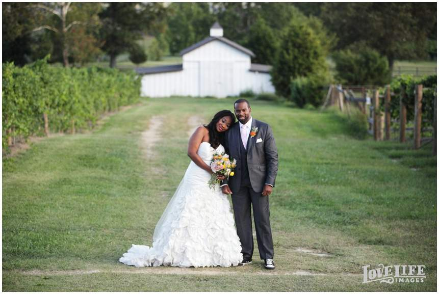 Veritas Vineyard wedding