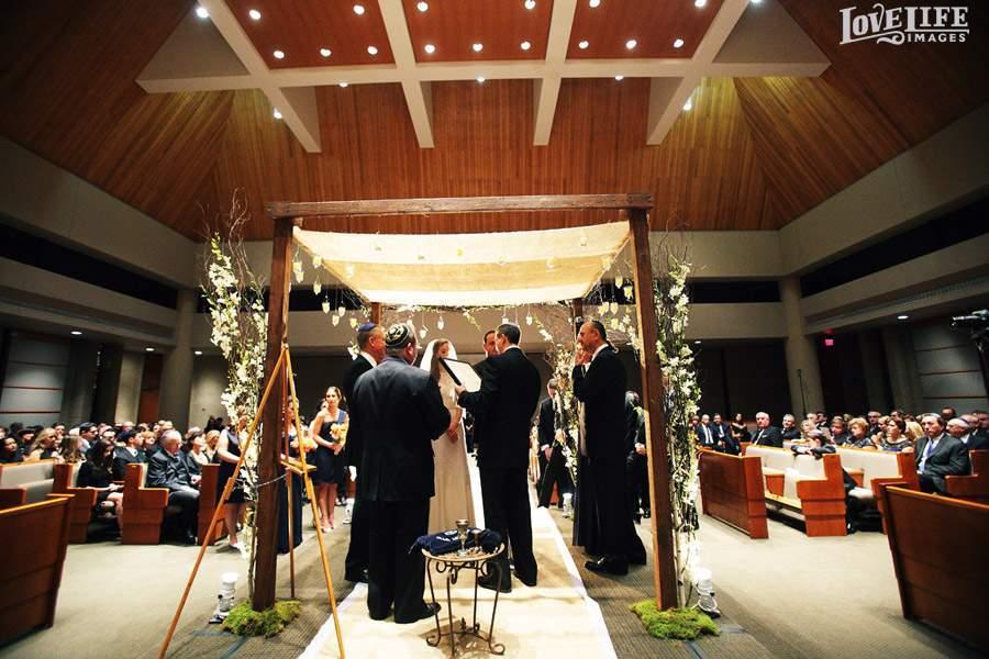 B'nai Synagogue wedding