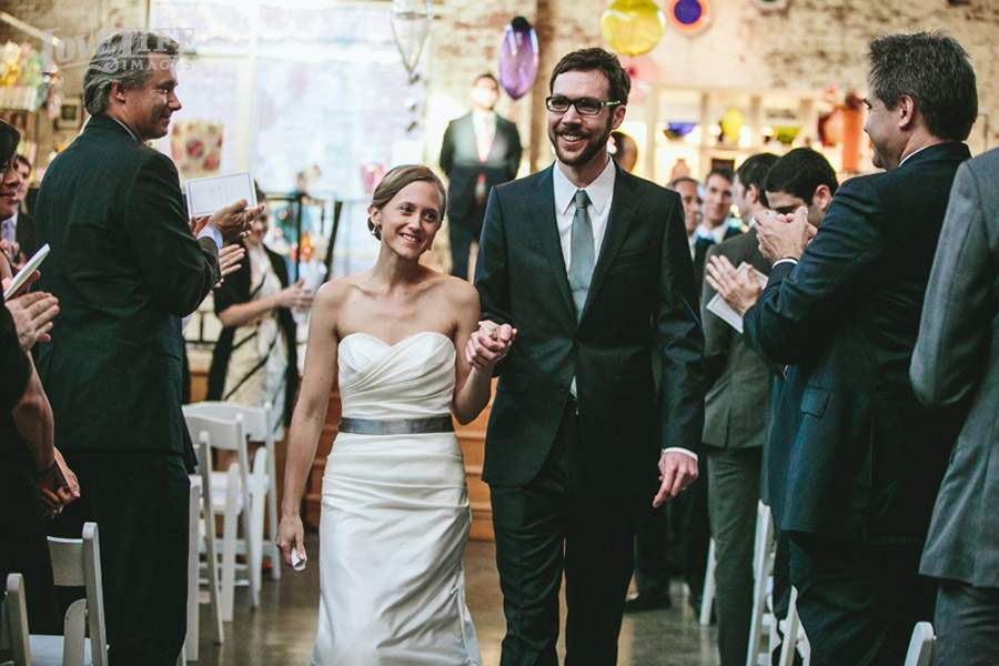 Coradetti Glass Studio Wedding