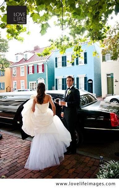 McClean VA home wedding